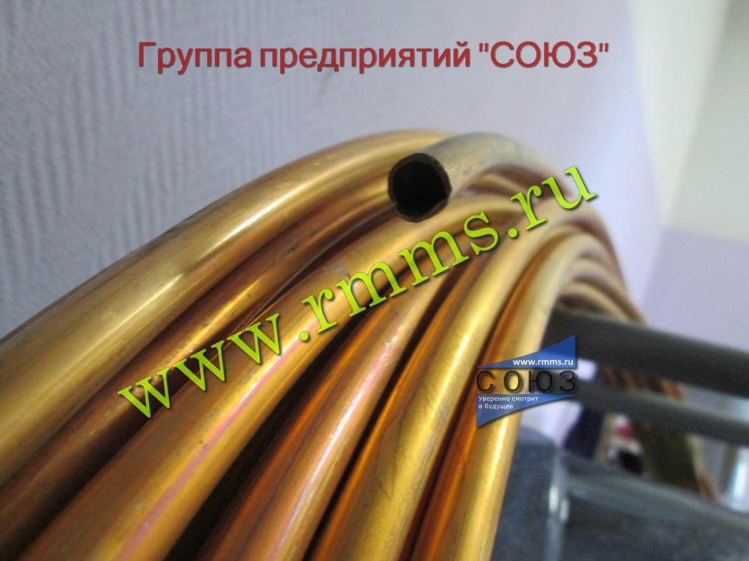 Трубы латунные для теплообменных аппаратов