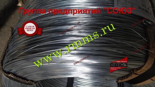 проволока ГОСТ 3282-74 цинк